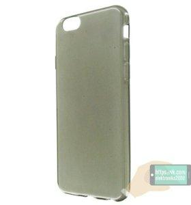 Накладка силиконовая для iPhone 6 6s. Черная
