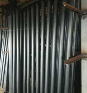 Винтовые сваи диаметр трубы 57, 76, 89, 108, 133мм