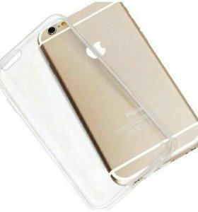 Накладка силиконовая для iPhone 7. Прозрачная.
