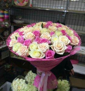 Розы, Букеты Доставка