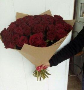 Цветы, Букеты из роз