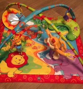Развивающий коврик Tiny Love с обезьянкой