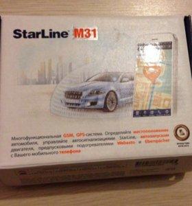 Starline m31 автозапуск gsm gprs