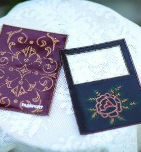 Подарки ручной работы, обложки на паспорт