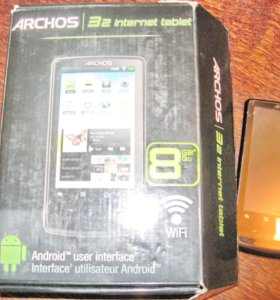 Мини-планшет Archos 5 Internet tablet 8Gb Android