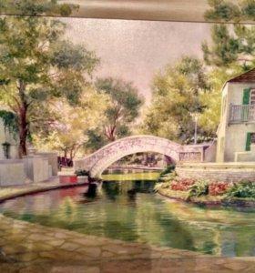 """Картина """"Летний мост"""""""