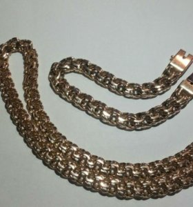 Золото 585. Ц 100 гр.брослет 52