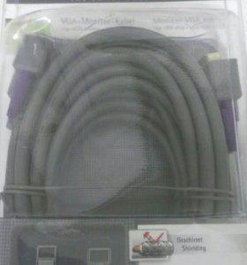 VGA кабель 5 метров