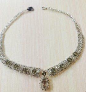Ожерелье из бисера ручная работа