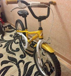 """Велосипед детский двухколесный Ride 16"""""""