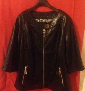 Кожаная куртка(эко кожа)