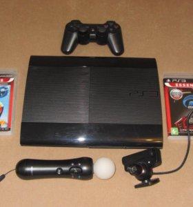 Sony PlayStation 3 Super Slim(500gb)+8 игр