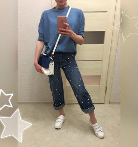 Джинсы Zara (хлопок) 🔥-20%