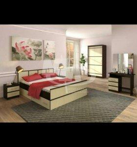 Спальный гарнитур/спальня САКУРА набор 3!