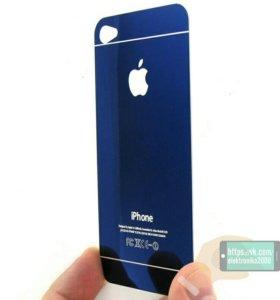 Защитное стекло для iPhone 4 4s. На две стороны.