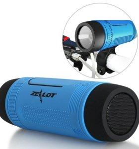 Bluetooth колонка+фонарик
