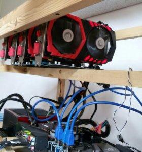 GPU майнер/майнинг ферма MSI GTX 1050TI 4G