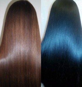 Обучение Кератиновое выпрямление волос с нуля