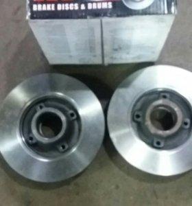ситроен с-4 задние тормозны диски