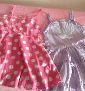 Платья 3-5 лет