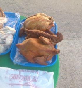 Копчённая домашняя курица
