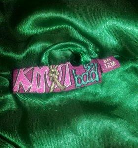 Толстовка knod so bad зеленая