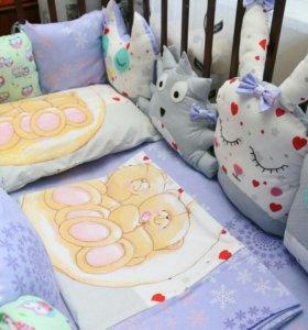Бортики подушки и прочее