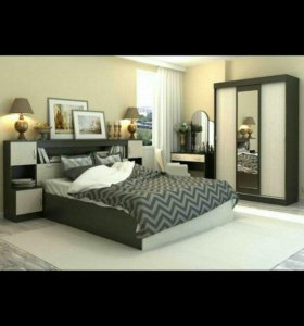 Спальный гарнитур/спальня БАСЯ набор 1!