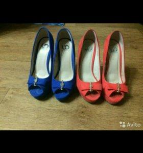 Обувь женская размер 34