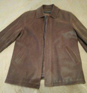 Куртка из натурального нубука