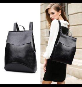 Стильный женский рюкзак трансформер