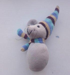 Мышонок мягкая игрушка