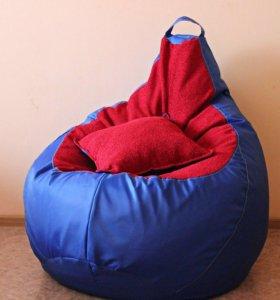 Яркое кресло-груша