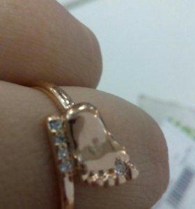 Кольца мельхиор в золоте