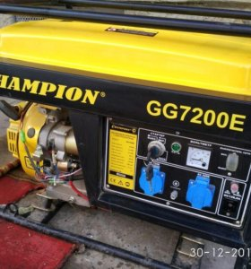 Генератор бензиновый с автозапуском
