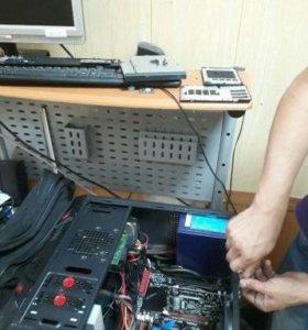 Ремонт и настройка компьютеров ноутбуков телефонов
