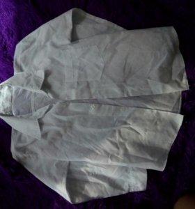 Рубашка белая,на мальчика