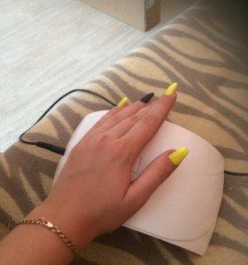 Наращивание ногтей и покрытие гель лаком !