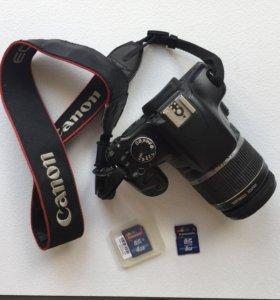 Фотоаппарат Canon 450D с картами памяти на 8и4 Гб