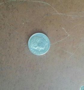 10 центов 1962 года