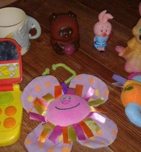 Продам погремушки, игрушки для малышей