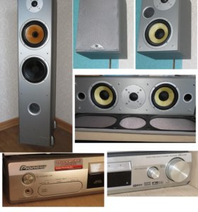 Davis acoustics KVK 5 и ресивер Pioneer VSX-C502