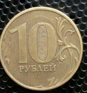 Колекционная монета (2012г,московской чиканки)