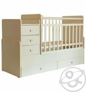 Детская кровать-трансформер Фея