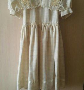 Платье праздничное детское б/у