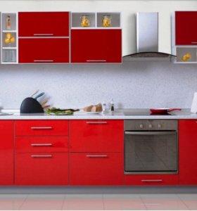 Кухонный гарнитур в AL рамке