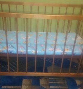 Продам кроватку