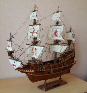 Модель корабля Испанский галеон