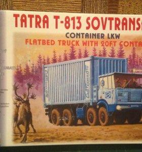 Sovtransavto tatra T-813 1/87