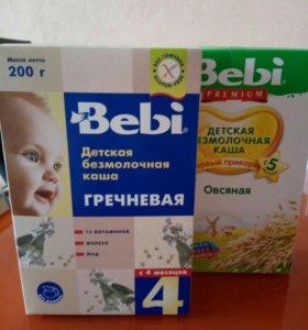Детское питание каша Bebi безмолочная